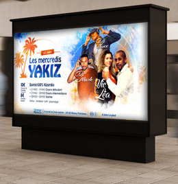 Affiche - Soirée danse Kizomba