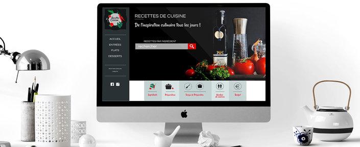 Webdesign - Recette de cuisine