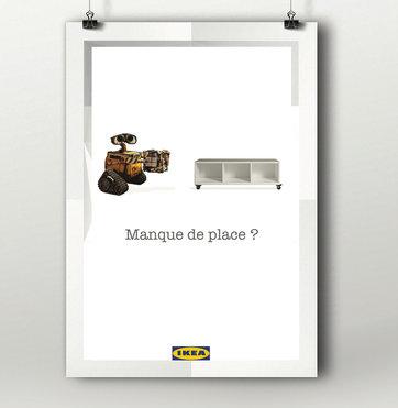 Affiche - IKEA Walle