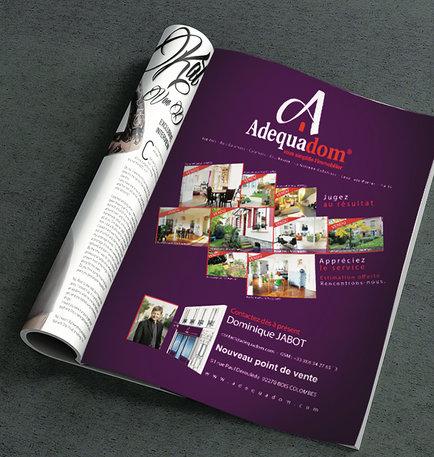 Publicité - Adequadom'