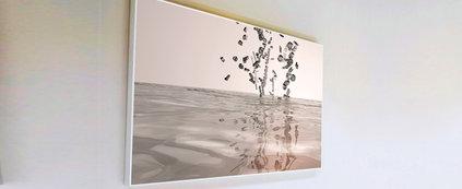 Rendu 3D - Lettre dans l'eau