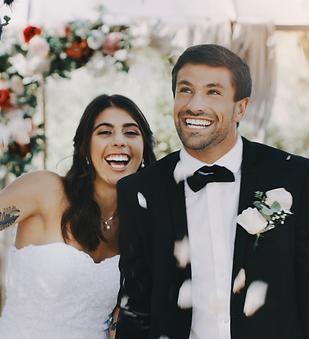 Married Couple Wedding Osoyoos