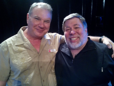 Steve Wozniak and Big Daddy!