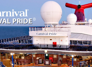 Big Daddy sails on the Carnival Pride Feb. 17 - 21
