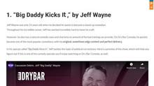 """""""Big Daddy Kicks It,"""" by Jeff Wayne"""