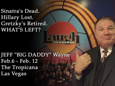 Big Daddy at The Laugh Factory, Las Vegas!
