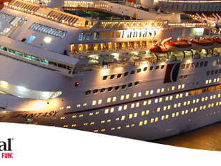 Big Daddy sails on the Carnival Fantasy March 18 - March 28