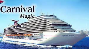 Big Daddy sails on the Carnival Magic February 28 - March 6
