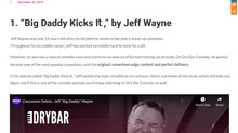 """Big Daddy Kicks It,"" by Jeff Wayne"