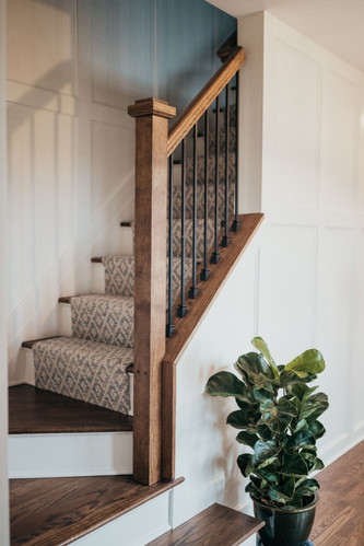 Stairwell Carpet Runner