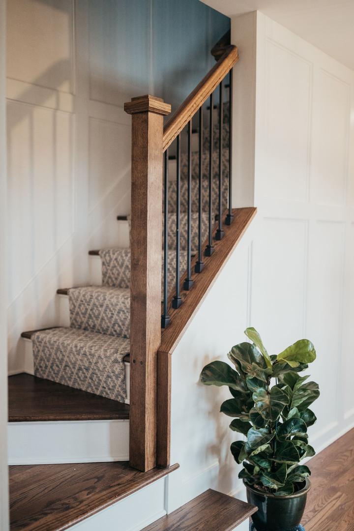 Stairwell Carpet Runner