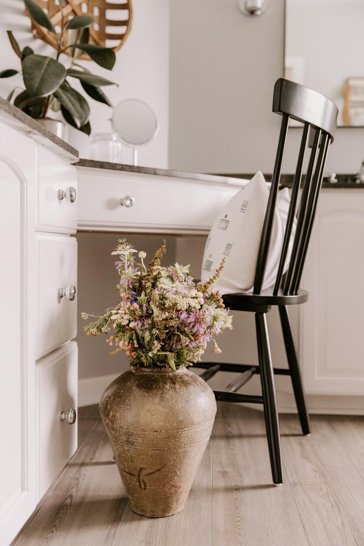Chair for Bathroom Vanity