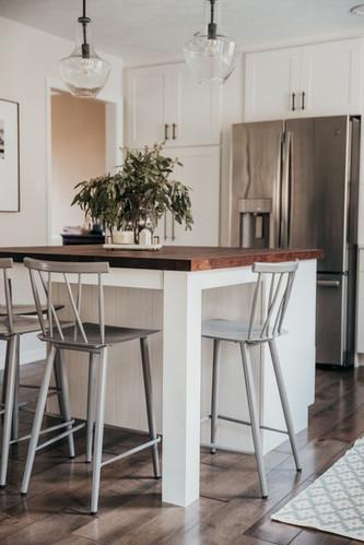 Kitchen Counter Metal Stools