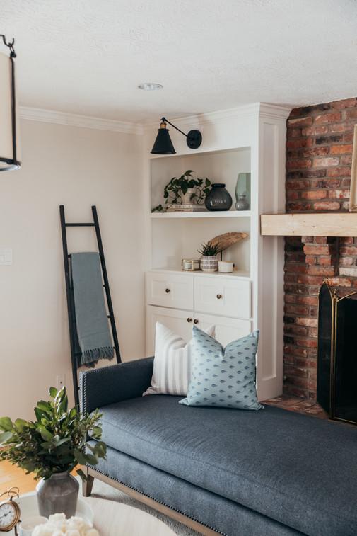 Living Room Built-in's