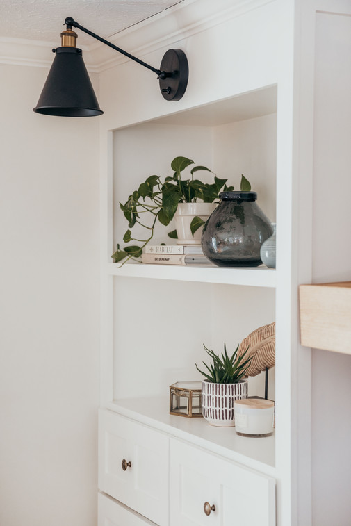 Library Sconces for Built-in's