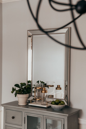 Rectangular Silver Mirror