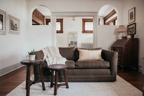 Living Room Reveal: Ferree Street Project Part Two