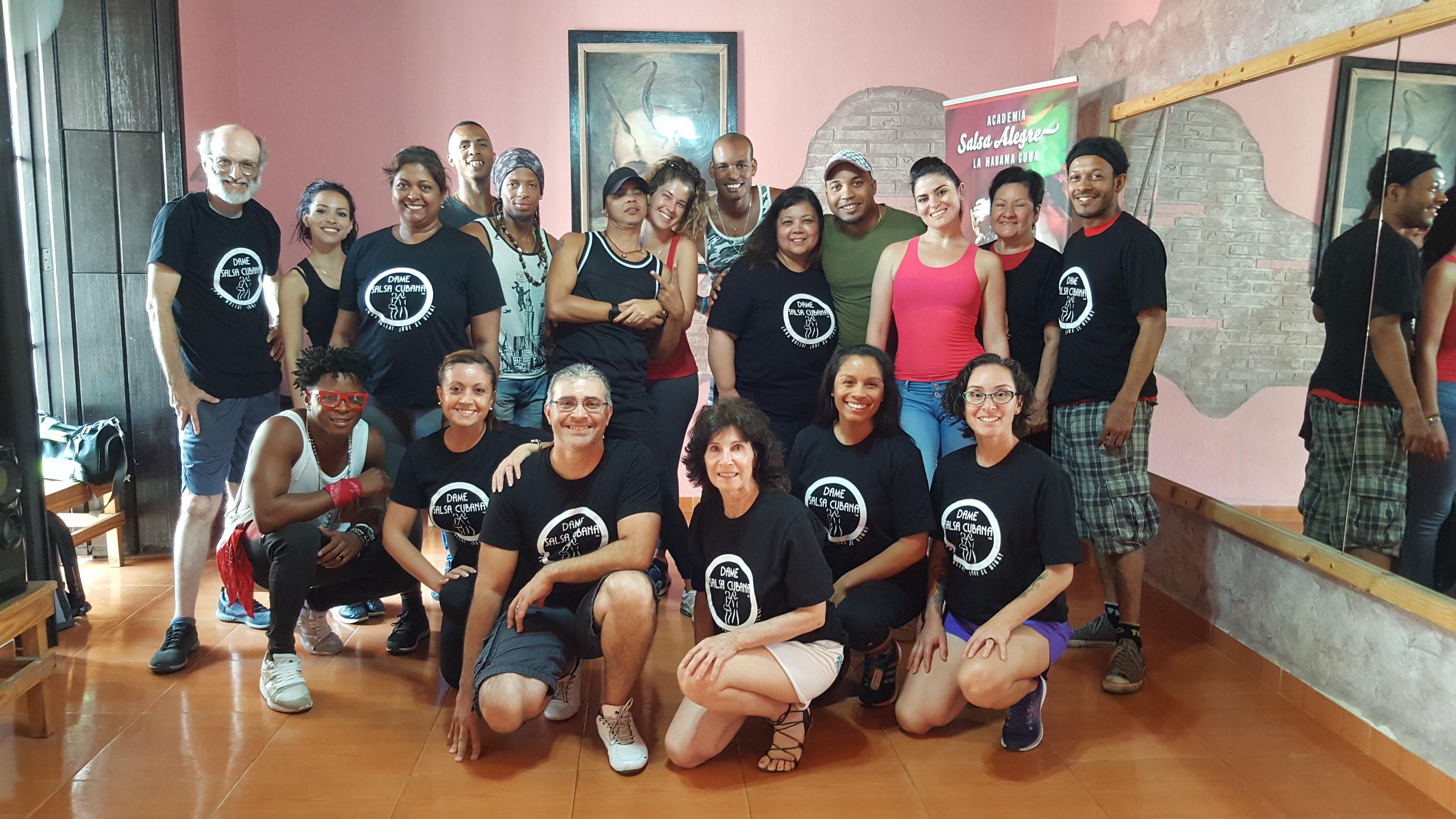 Class at Casa del Son