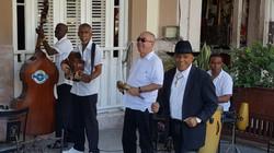 Local Musicians at Paladar