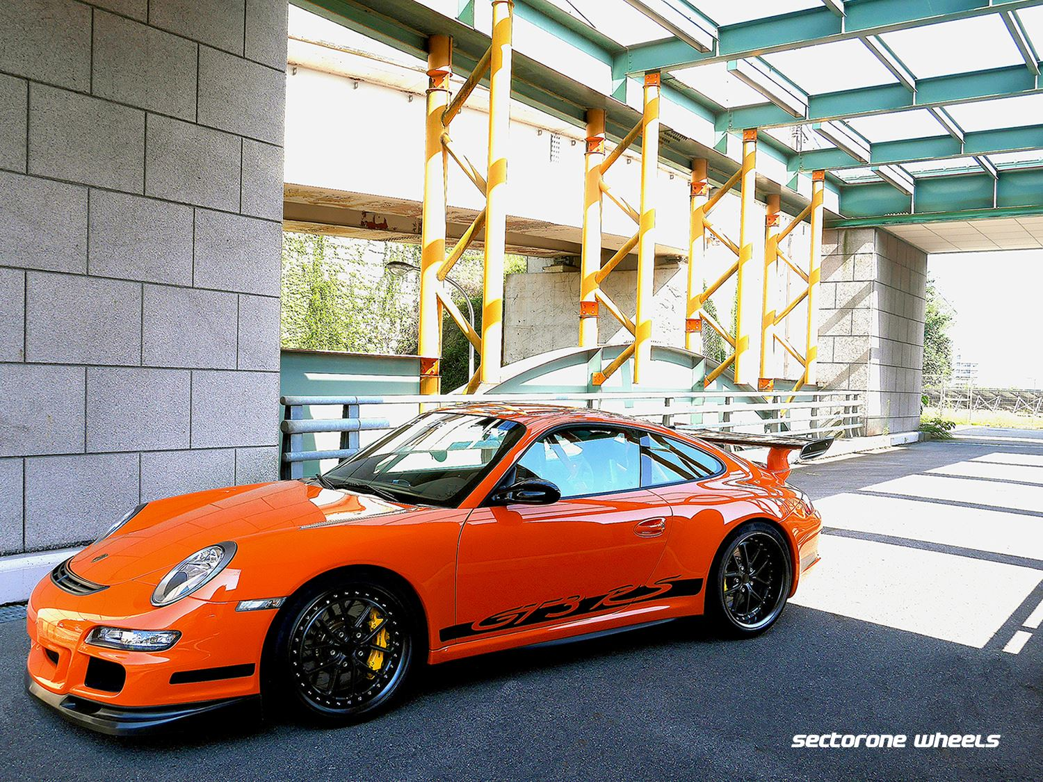Porsche 997 GT3RS on MC5 3-piece 19