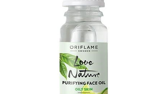 Purifying Face Oil with Organic Tea Tree & Lime -34849-