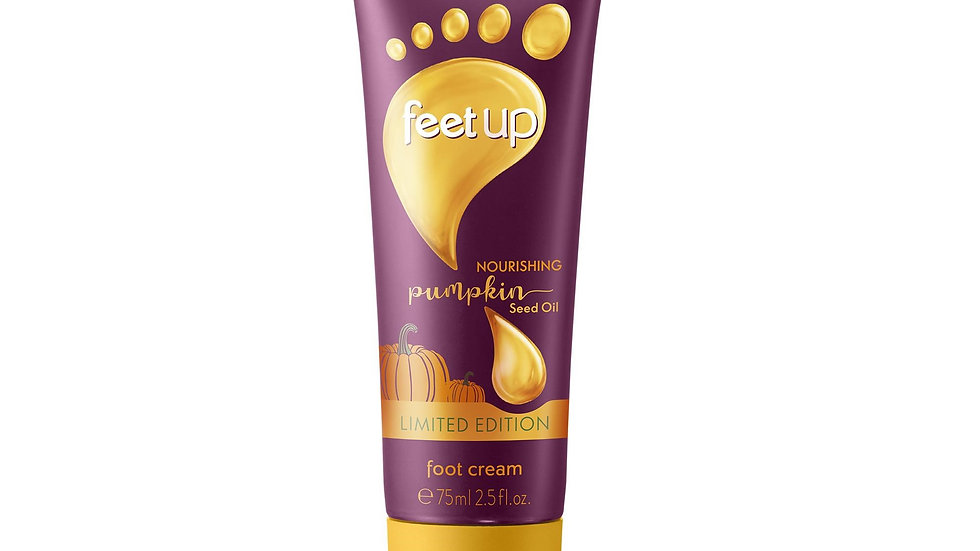 Feet Up - Nourishing Pumpkin Seed Oil Foot Cream -34731-