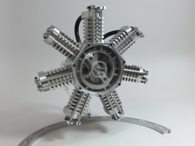 Desktop Radial Engine
