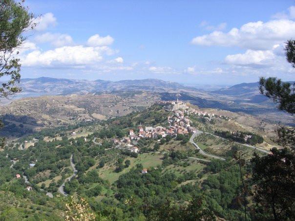The village of Noepoli, Basilicata
