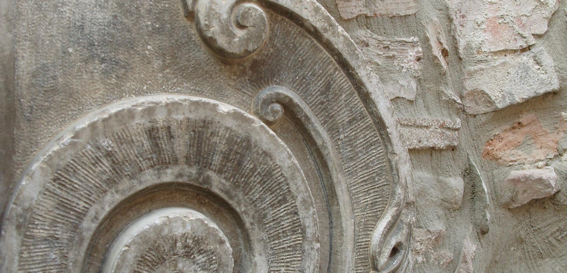 Palazzo Rinaldi door detail