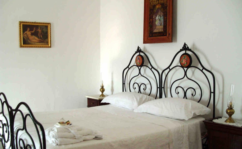 Bedroom at Palazzo Rinaldi