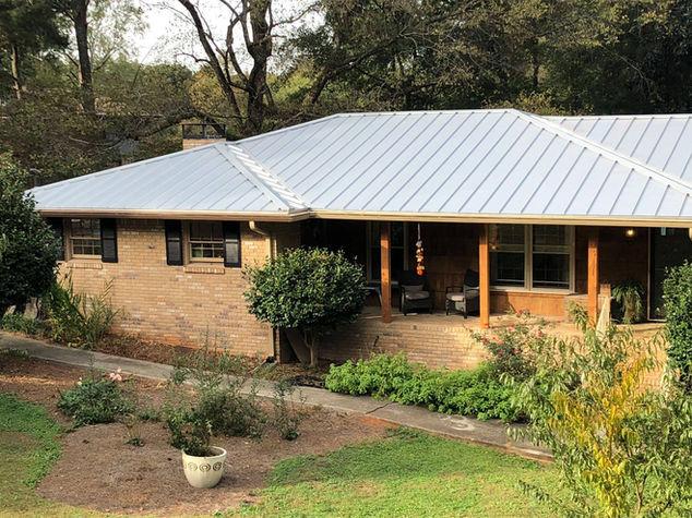 Galvalume Metal Roof