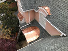 copper barrel dormers and awning