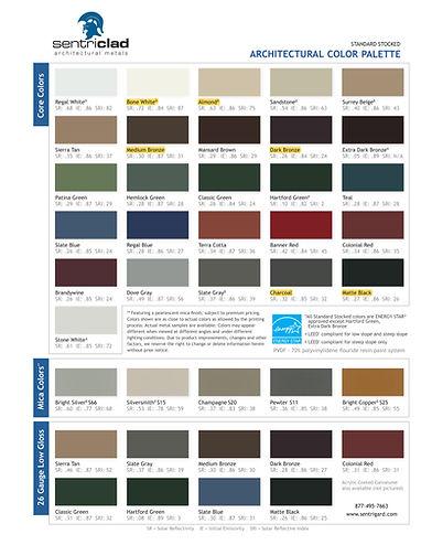 Sentriclad Color Chart Marietta Highligh