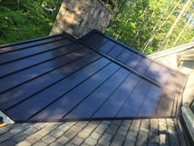 Black Galvanized Roof Panels