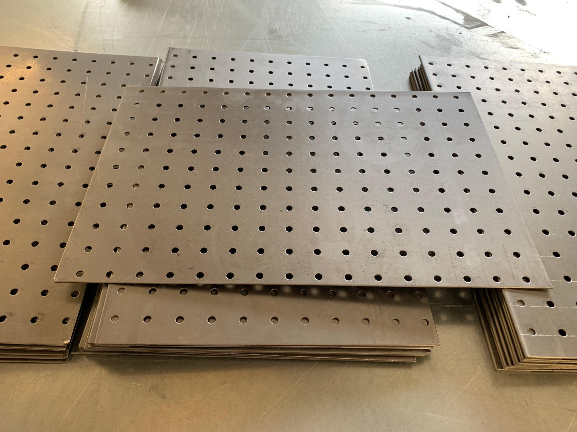 16 ga steel Perforated Shelves