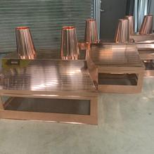 Custom Copper Chimney Caps