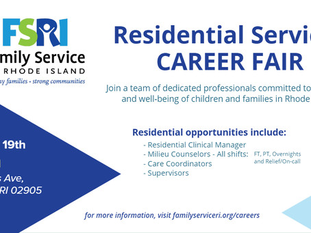 FSRI's Residential Services Program Host's Career Fair 11/19/2019
