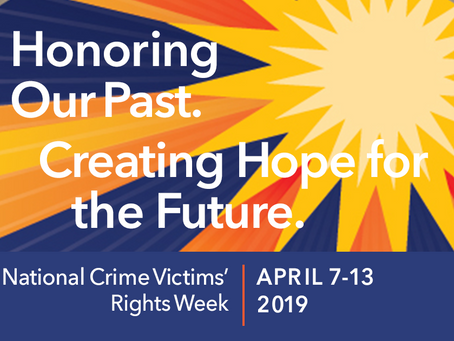 Annual Victim's Grove Ceremony in honor of National Crime Victims' Rights Week