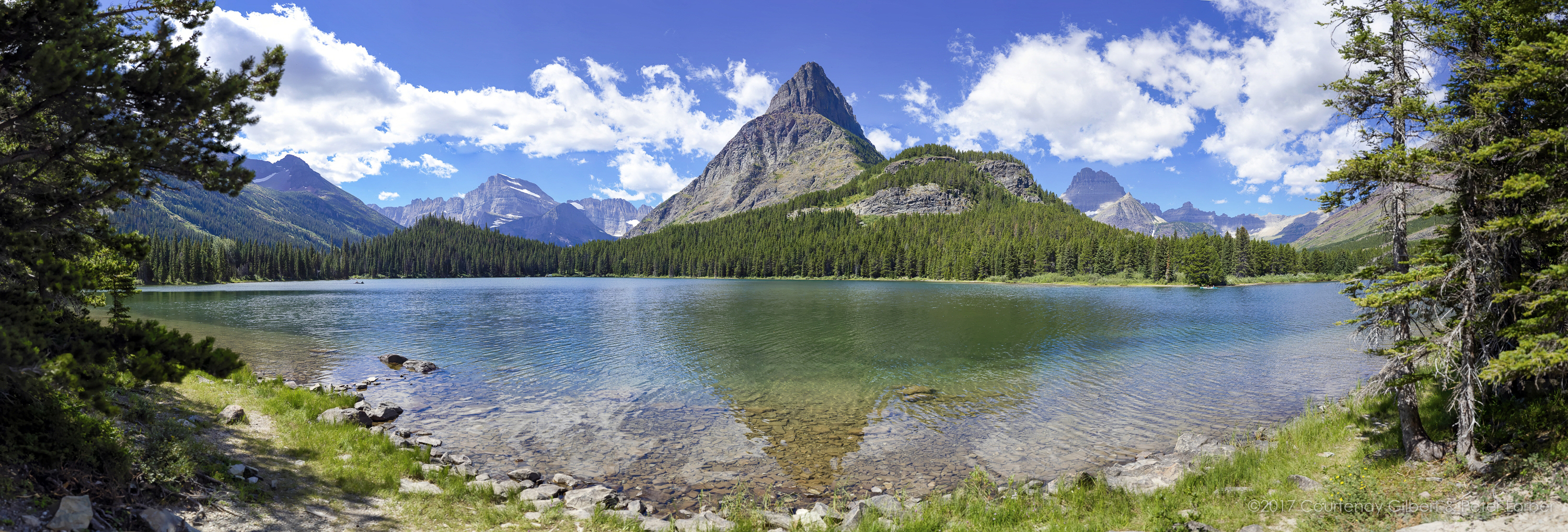 Swiftcurrent Lake Afternoon-2