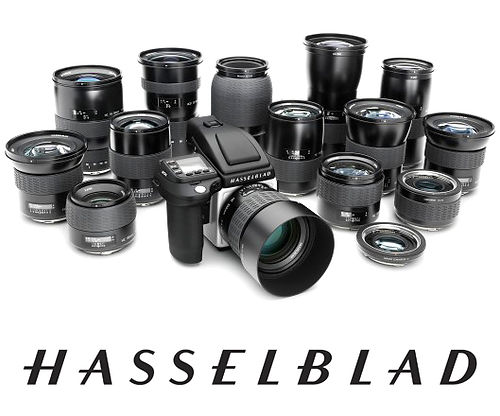 Hasselblad camera and lenses