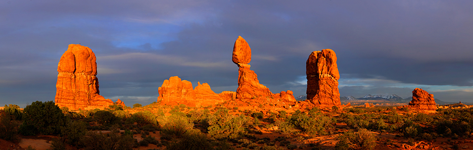 Balanced Rock Sunset