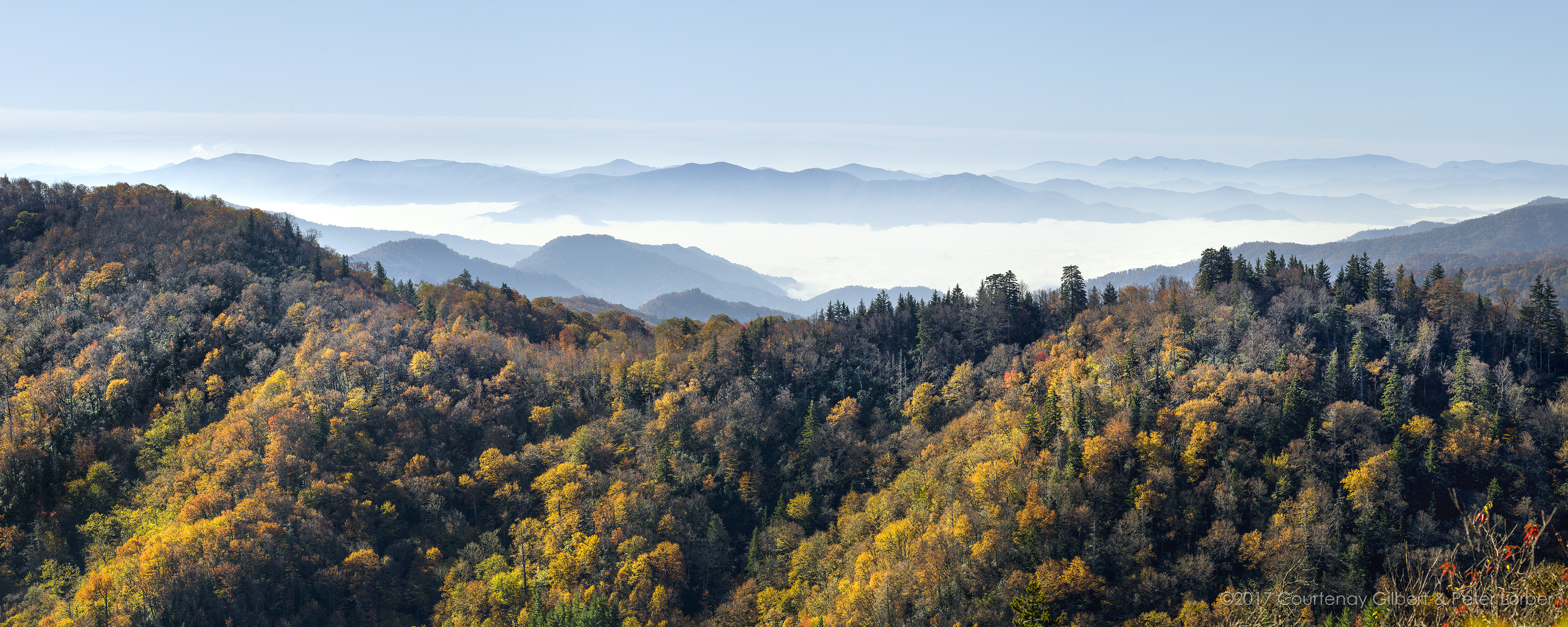 The Graet Smoky Mountains
