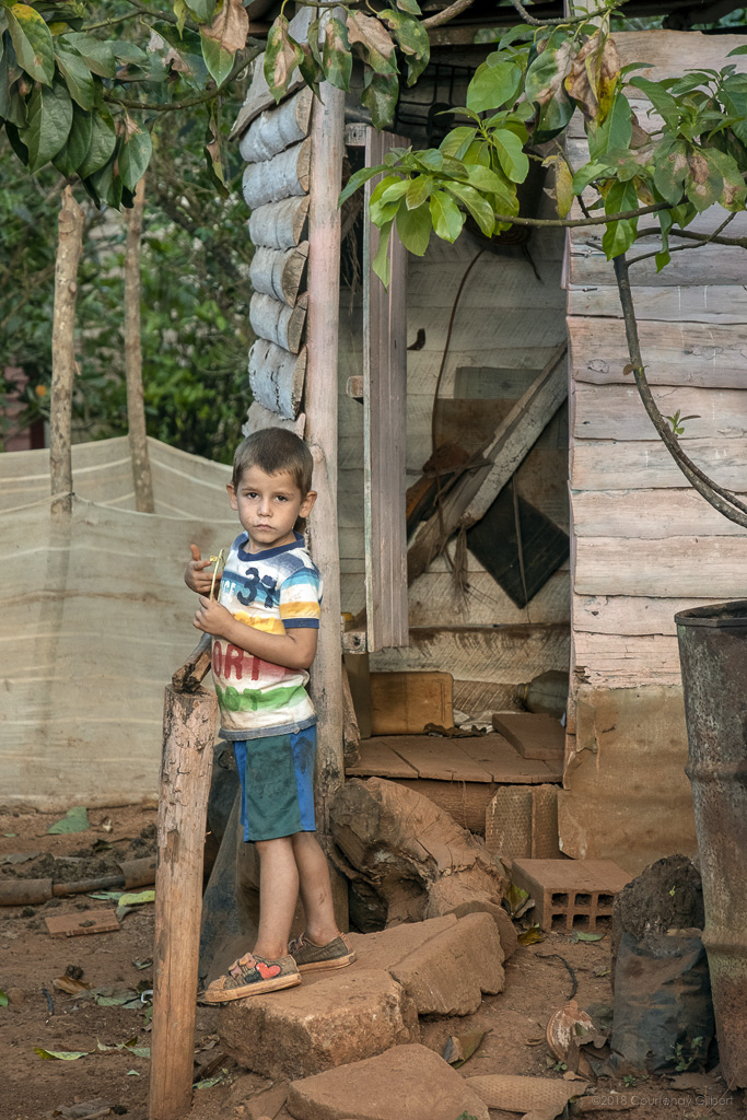 Child of Viñales, Cuba