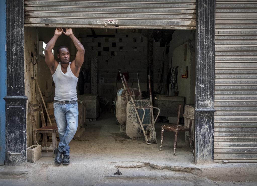 Cuban Man, Havana, Cuba