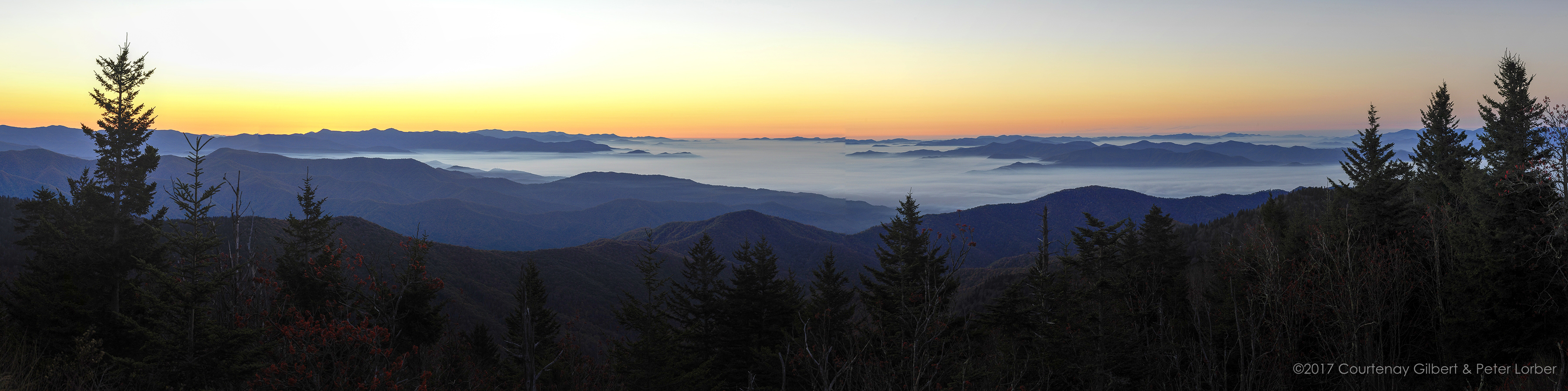 Clingmans Dome Dawn