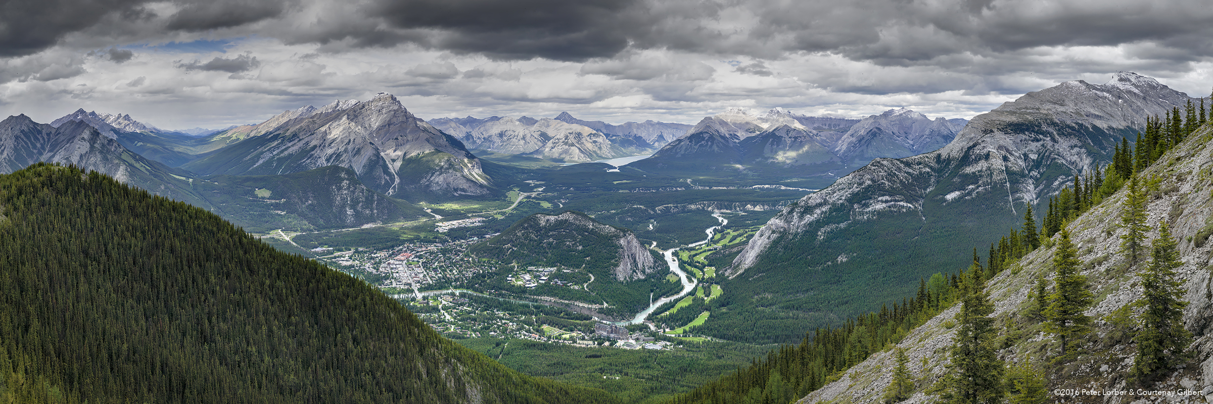 View from Sulphur Mountain 2