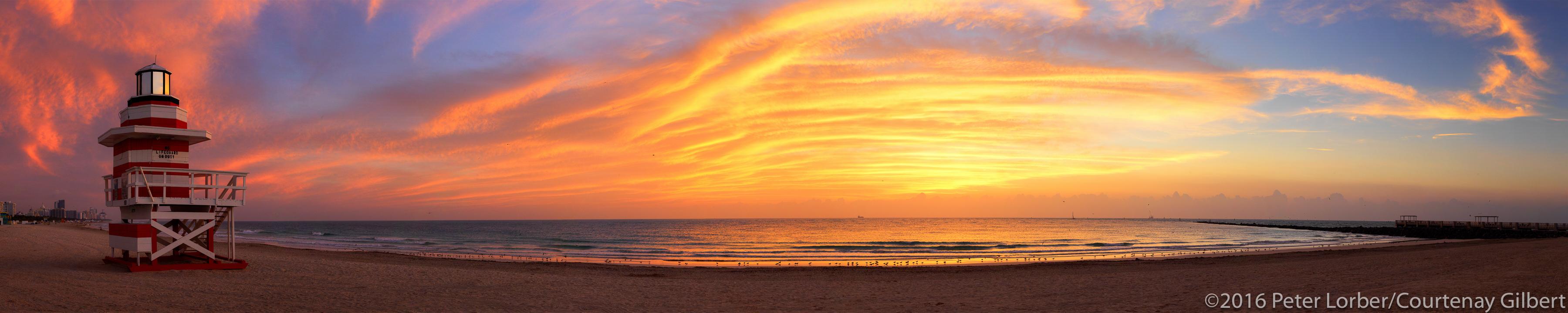 Miami Beach Dawn