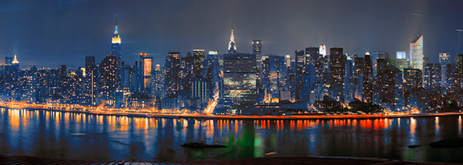 "Image of the Day - ""New York Blue, no. 22"" by Peter Lorber and Courtenay Gilbert"