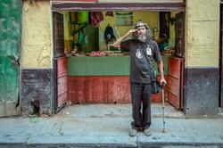 Che Guevara Impersonator in Havana,
