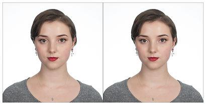 Passport Photo of a woman